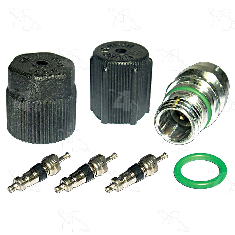 Four Seasons 26776 Cap /& Valve Air Conditioning System Seal Kit