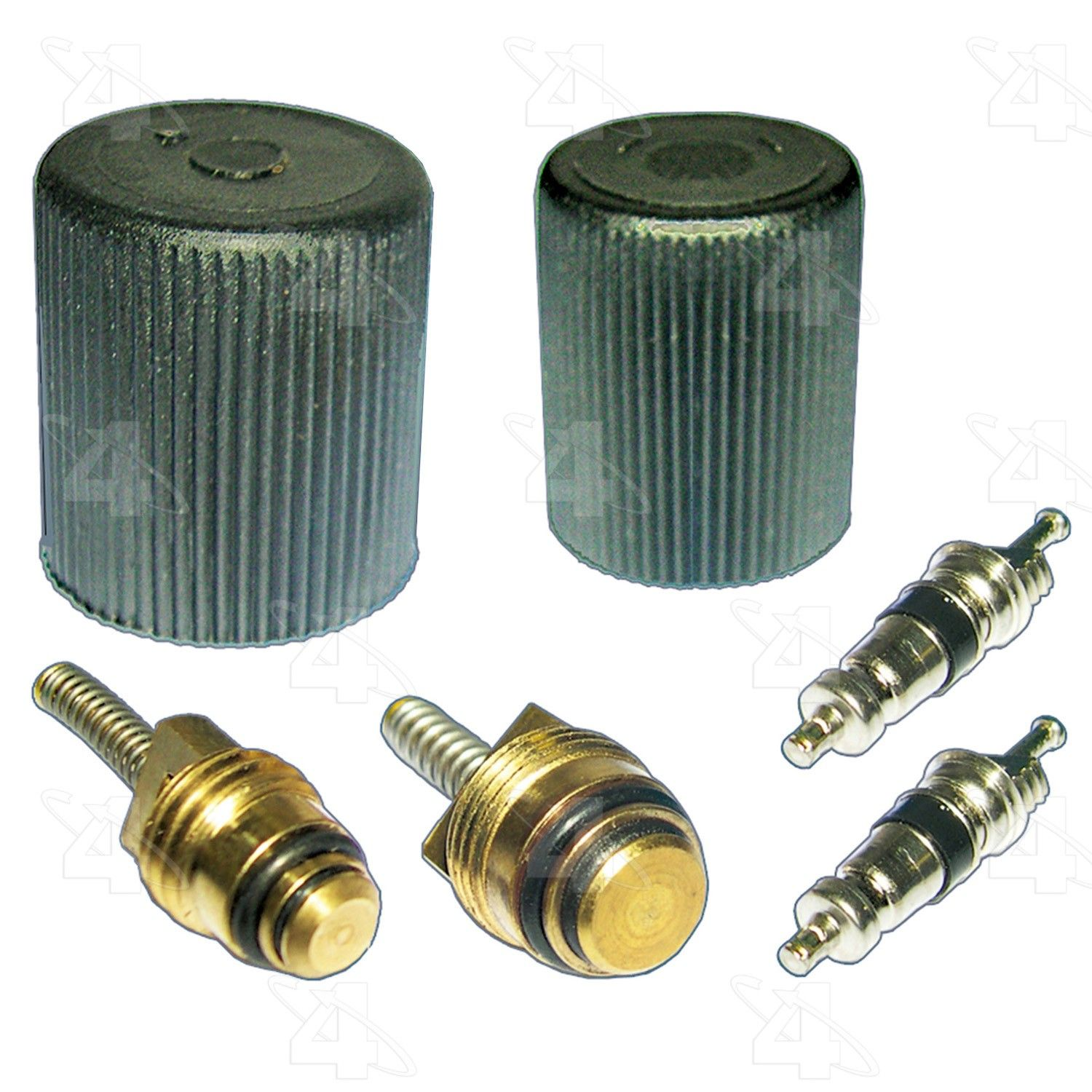 A//C System Valve Core and Cap Kit-AC System Seal Kit 4 Seasons 26783